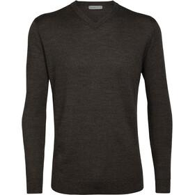 Icebreaker Shearer Sweater Herrer, brun